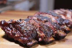Coffee Brined Baby Backs
