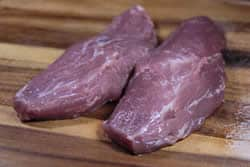 Pork tenderloins -fat and silverskin removed