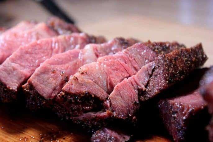 Smoked Sirloin Tip Roast - Beef