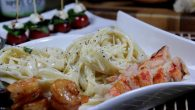 Smoked Seafood Fettuccine