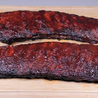 Smoked 3-2-1 St. Louis Style Spare Ribs
