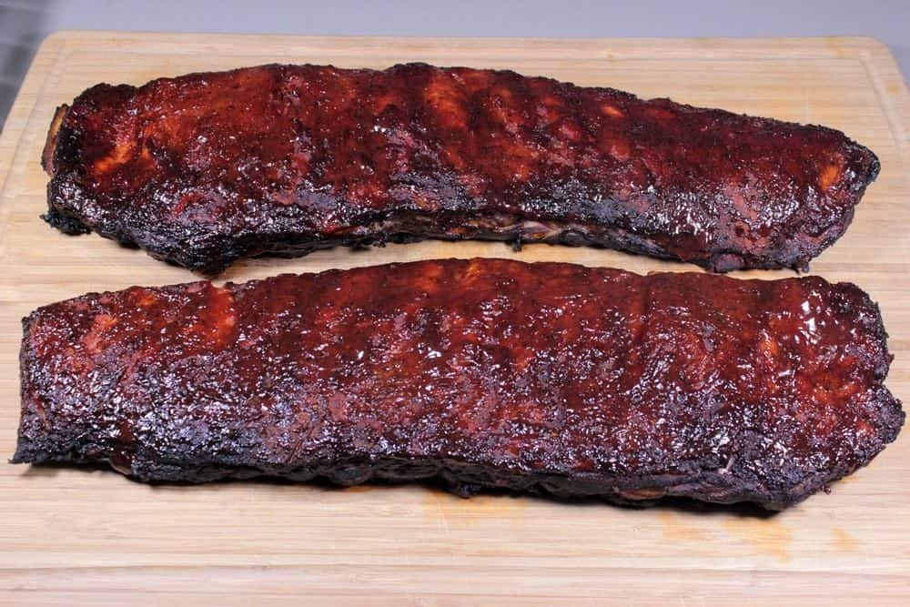 Smoked 3 2 1 St Louis Style Spare Ribs Smoking Meat