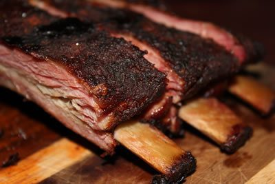 Smoked Pork Ribs