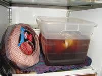 Add Brining Turkey to Fridge