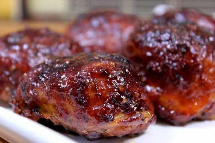 Smoked Cupcake Chicken