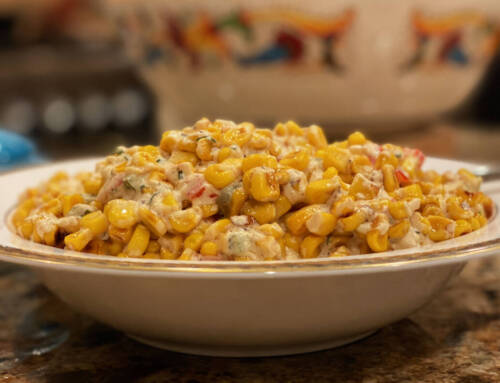 Smoked Cheesy Corn