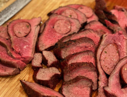 Hot Link Stuffed Tri-tip