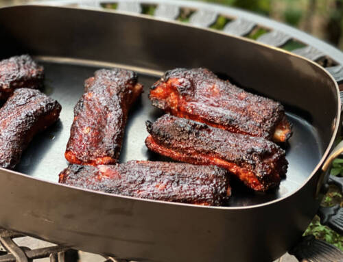 Wide-Cut Individual Smoked Pork Spare Ribs