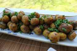 Spiced Baby Potatoes
