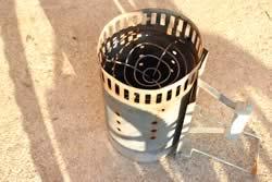 charcoal chimney