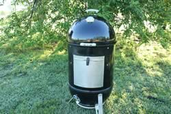 smoker all put together and ready to smoke