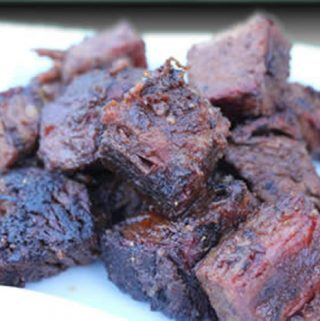 Smoked Brisket and Burnt Ends