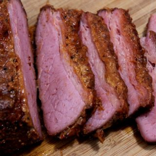 Smoked Corned Beef Brisket for St. Patrick's Day