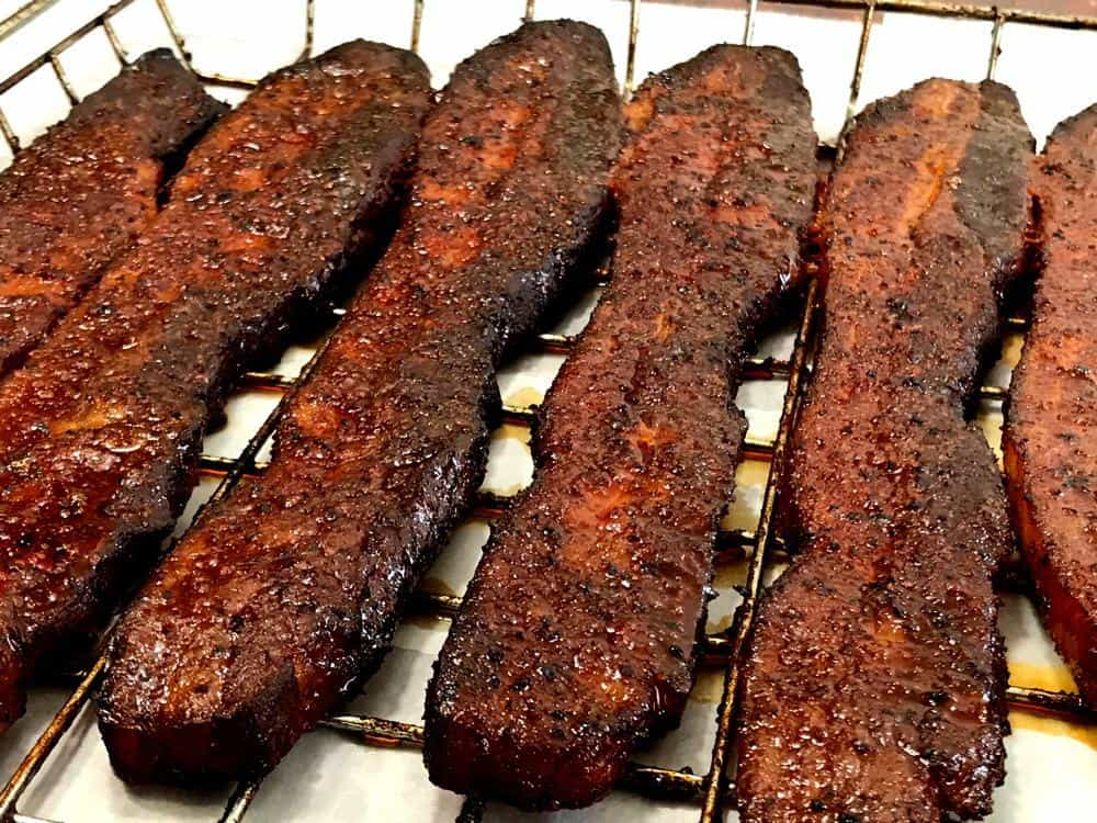 Smoked Pork Belly Slices
