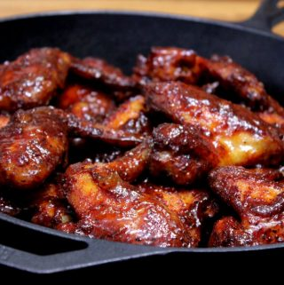 Apricot and Honey Chicken Wings – Hickory Smoked