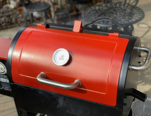 Pit Boss 440 Pellet Smoker with Nascar Logo: Review