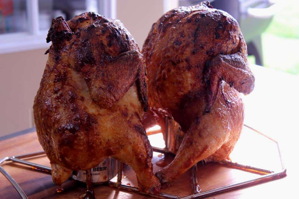 Hot Smoked Beer Can Chicken Recipe