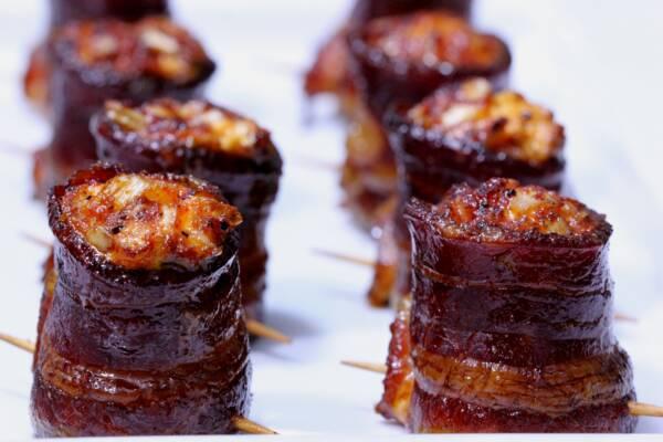 Smoked Pig Shots: Big Cheddar and Onion