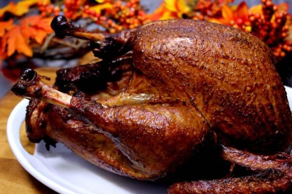 Barrel Smoked Turkey for Thanksgiving