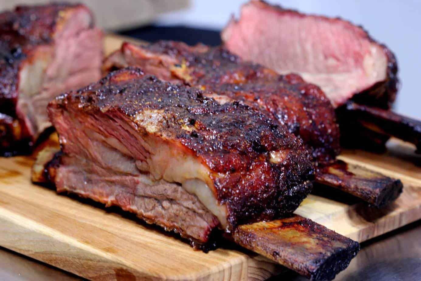 Smoked Beef Short Ribs Aka Dinosaur Ribs