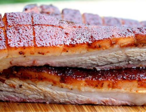 Smoked Whole Pork Belly