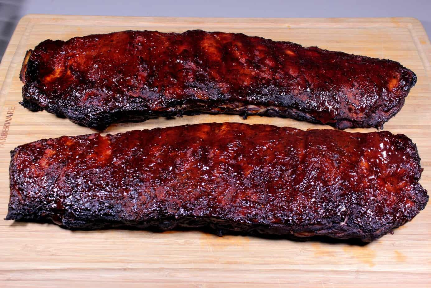 spareribs smoker