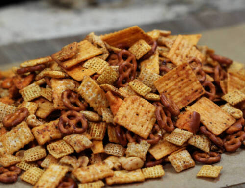 The Ultimate Smoked Snack Mix for the Big Game