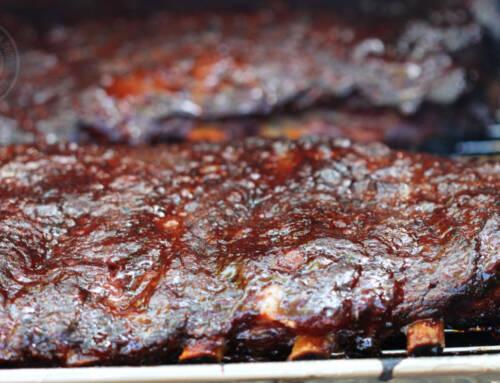 Sweet 'n Sticky Honey Barbecue Pork Ribs
