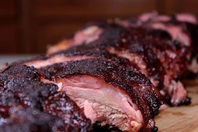 Smoked Ribs with Maple BBQ Glaze - Smoking Meat Newsletter