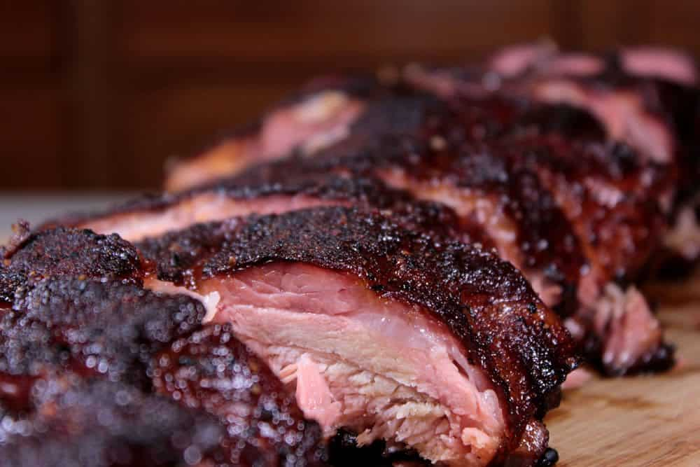 Smoked ribs with maple bbq glaze smoking meat newsletter - How to smoke meat ...