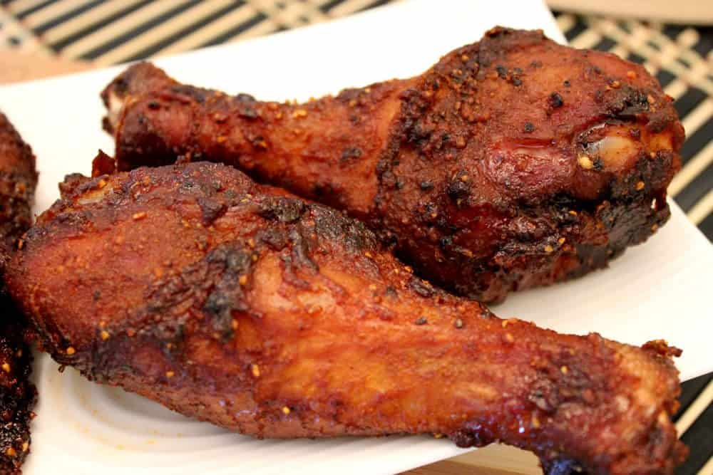 Smoked Chicken Legs And Thighs
