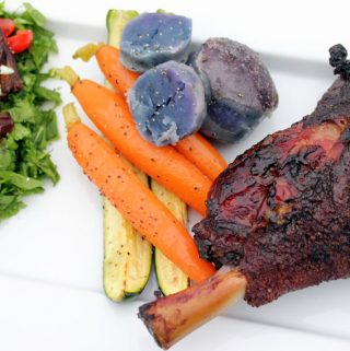 Smoked Lamb Shanks for Easter