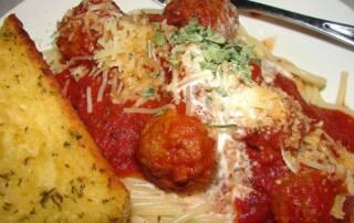 Smoked Meatballs In Spaghetti 800x584