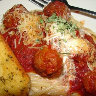 Spaghetti with Smoked Meatballs Recipe – March 2009 Newsletter