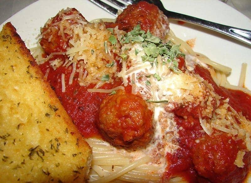 Smoked Meatballs In Spaghetti