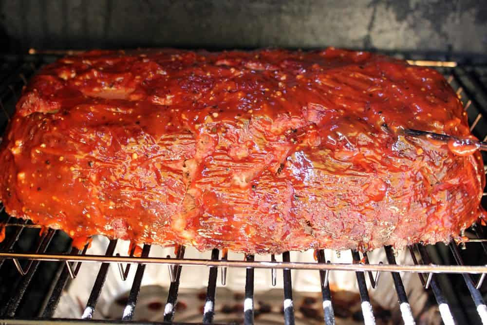 Smoked Meatloaf 010