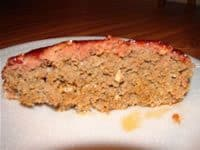 Smoked Meatloaf Sliced with Smokering
