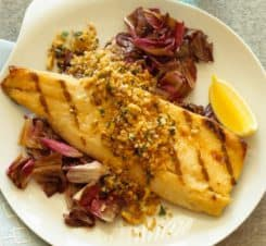 australian spicy ginger grilled fish steak