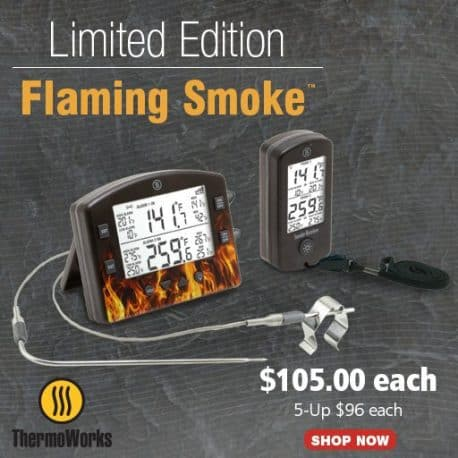 Flaming Smoke Thermometer