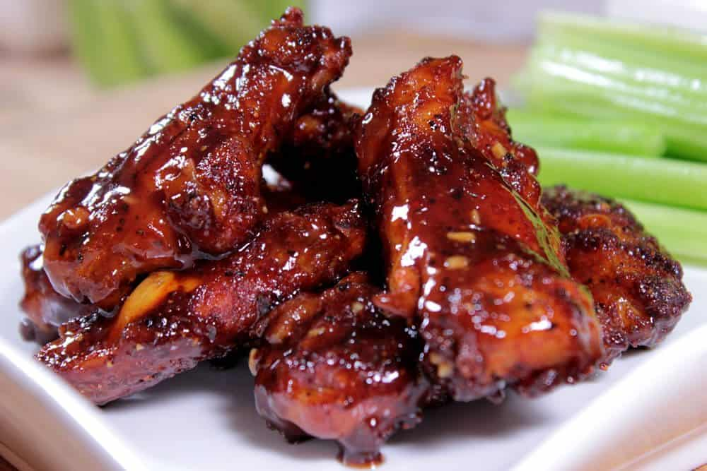 Honey Barbecue Smoked Chicken Wings