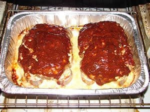 Meatloaf on Muffin Pan Finished