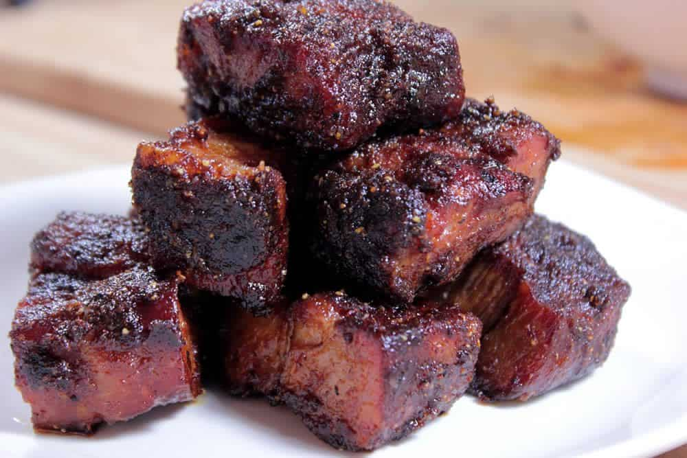 ... love burnt ends and i particularly love the pork burnt ends more