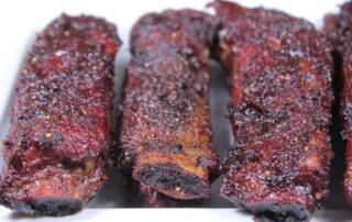 pre sliced pork ribs