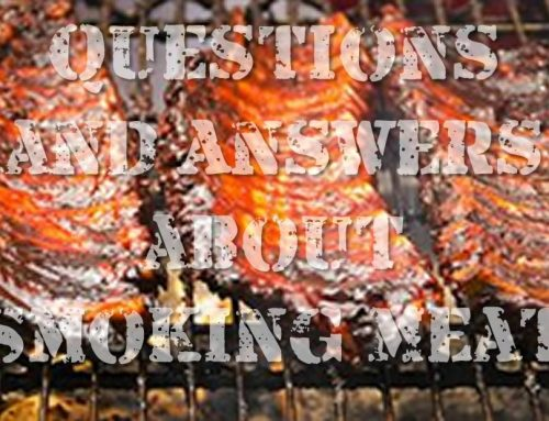 Questions and Answers on Smoking Meat