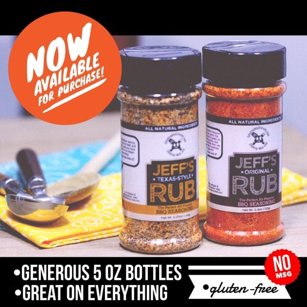 Jeff's Rubs (Bottled)