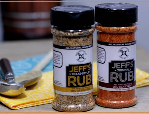 Jeff's Rubs Now Available in a Bottle