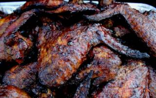 smoked chicken wings 1000x667