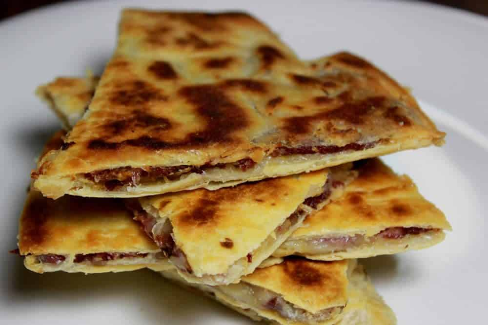 smoked-corned-beef-quesadillas