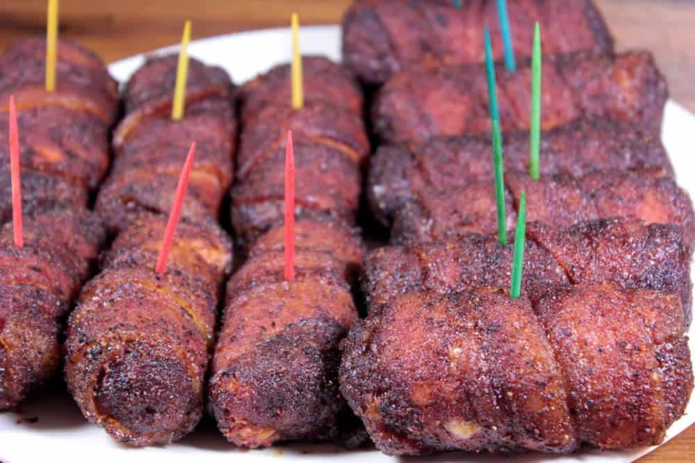 Miniature Smoked Bacon Wrapped Fatty Smoking Meat Newsletter