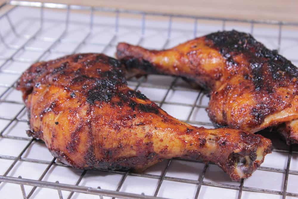 Smoked Amp Grilled Chicken Quarters Smoking Meat Newsletter